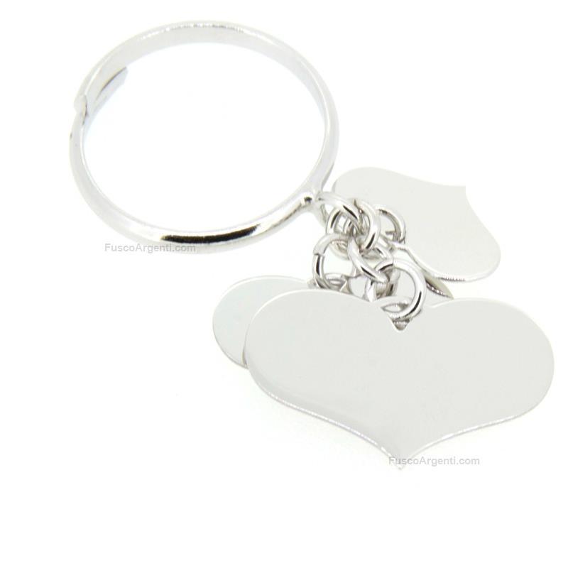profiter du meilleur prix technologies sophistiquées baskets Anello con cuore pendente any-g anello inargento 925%°° 3 ...