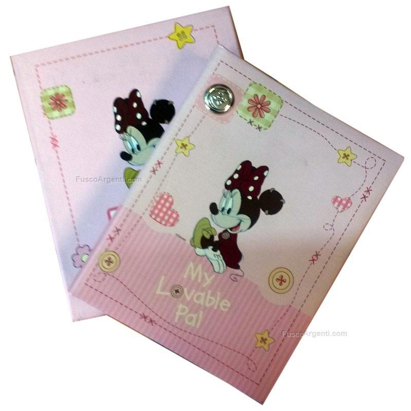 Album minnie outlet cm 13x18 - rosa bottone argento laminato ad.0446 ...