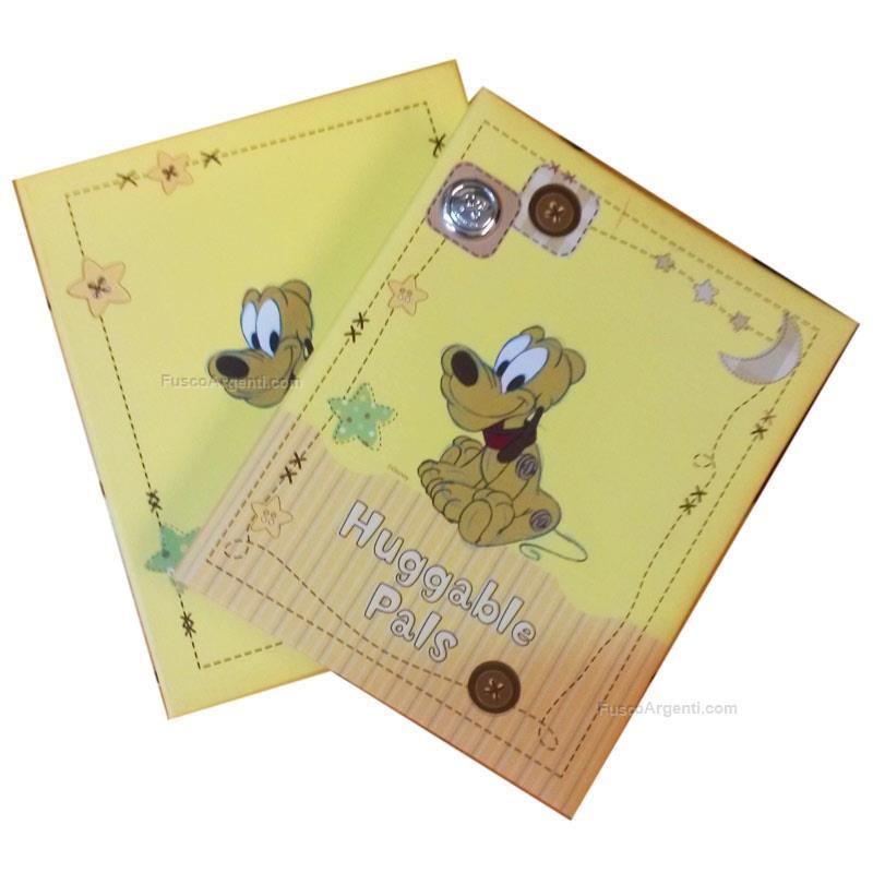 Album pluto outlet cm 13x18 - giallo album bimbo pluto bottone ...