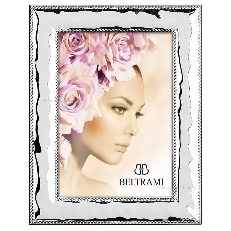 Picture frame classic beltrami cm 6x9 silver plate line