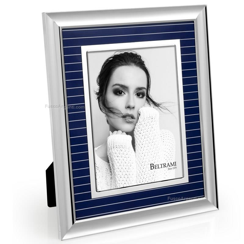 Porta foto luxury gessato beltrami cm 15x20 10x15 porta for Cornici foto 15x20