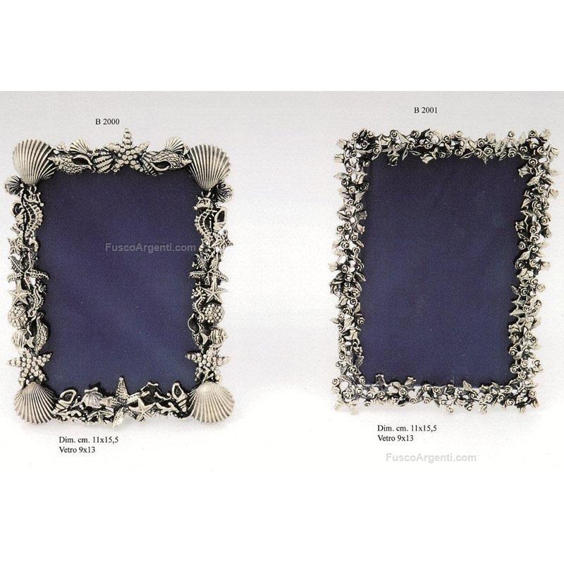 Cornice marinara marco conti cm 11x155 - vetro 9x13 argento. n.b. ...