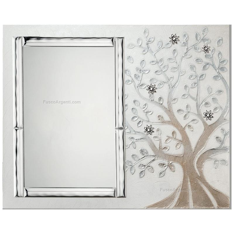 Albero della vita con specchio valenti co cm 79x64 quadro albero della vita specchiera 33x50 - Specchio della vita ...