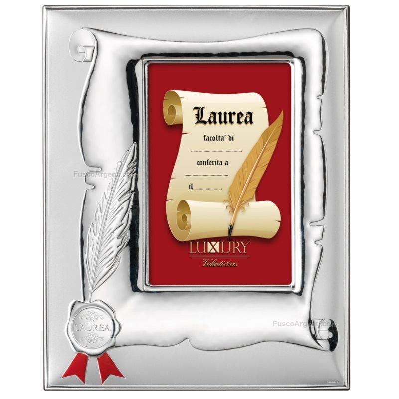 Cornice laurea valenti co cm 10x15 lucida satinata for Cornici 15x20