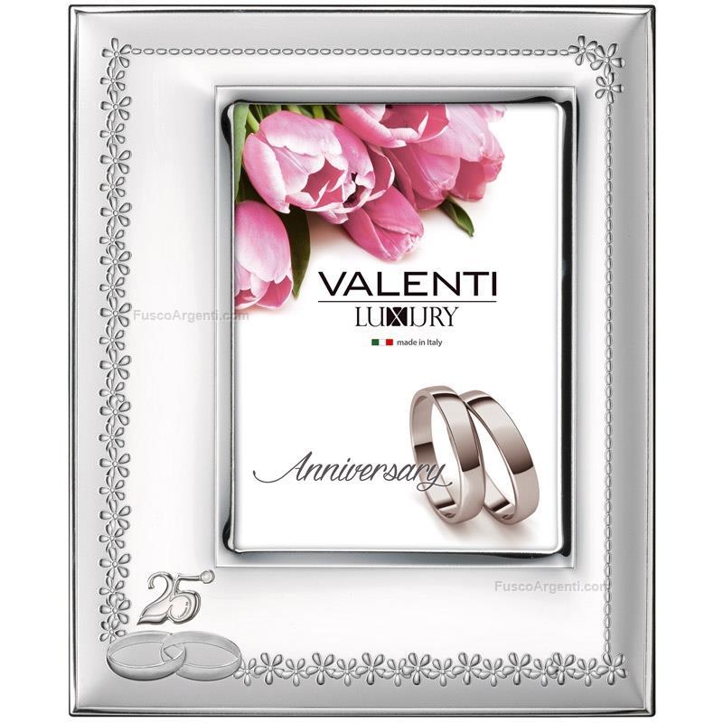 Cornice nozze d 39 argento valenti co cm 10x15 cornice for Cornici foto 15x20