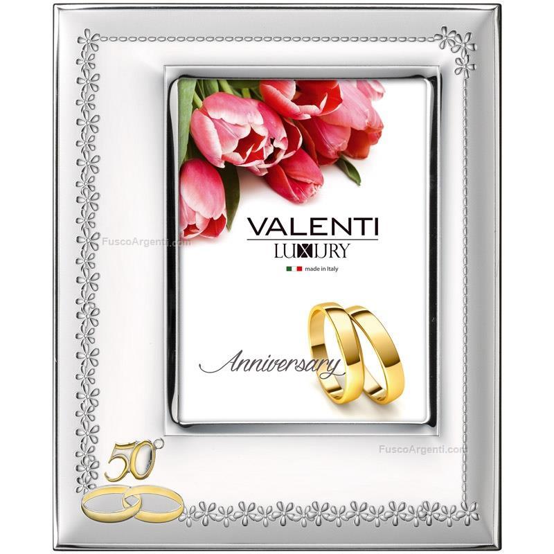Cornice nozze d 39 oro valenti co cm 10x15 cornice argento for Cornici foto 15x20