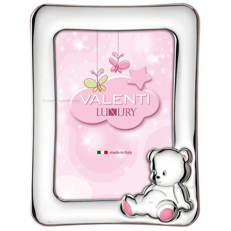 Cornice orsetto seduto valenti co cm 9x13 rosa for Cornici 13x18