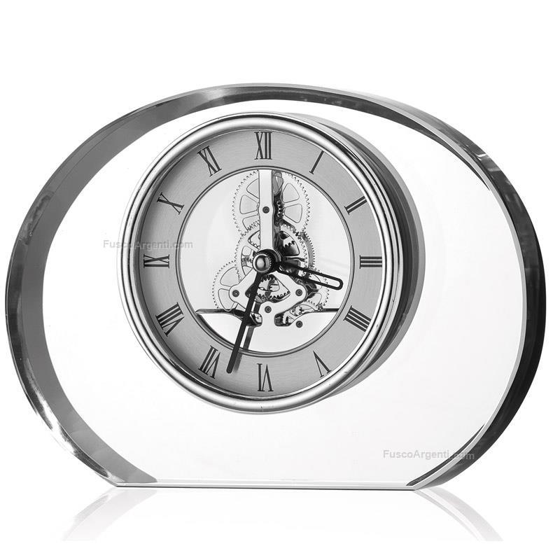 Orologio in cristallo valenti co h cm 135 orologio da - Orologi per casa ...
