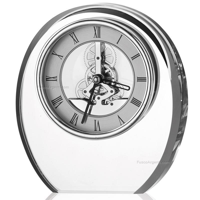 Orologio in cristallo valenti co h cm 155 orologio da - Orologi per casa ...