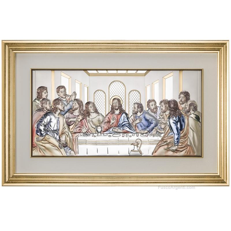 Quadro ultima cena valenti & co. int. cm 50x245 - colore ultima cena ...